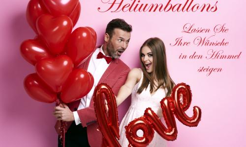 Flyer Heliumballons Vorderseite