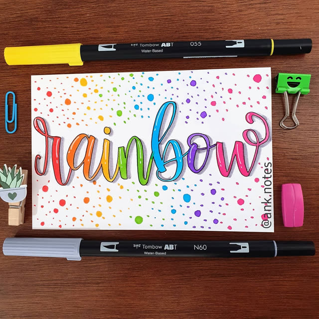 Tombow Rainbow