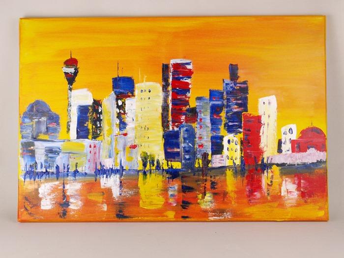 elGreco Acrylic_Skyline